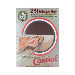 Castrol Poster 231 mph