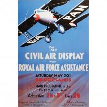 Civil Air Display Poster