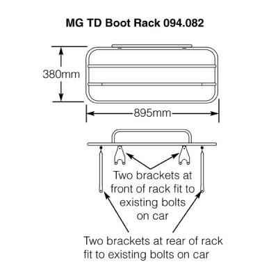 MG TD Chrome