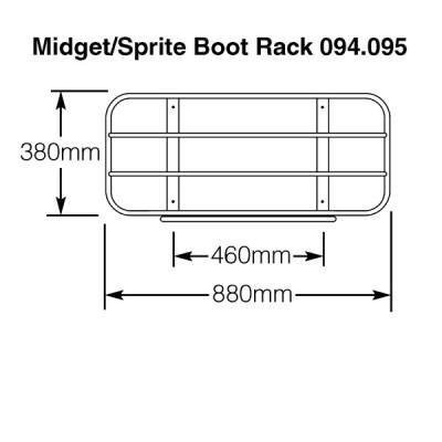 Midget/Sprite Stainless Steel