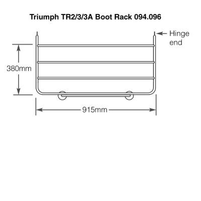 Triumph TR2-3A Chrome