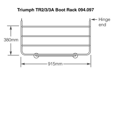 Triumph TR2-3A Stainless Steel