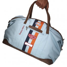 Gulf Travel bag in Blue - Limited edition Michael Delaney