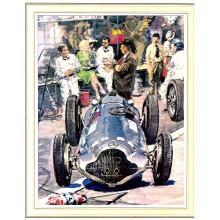 Gotschke 1938 Pescara Pits Signed Print