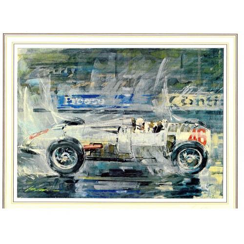 Gotschke Limited Edition Print - 1934 Avus Grand Prix