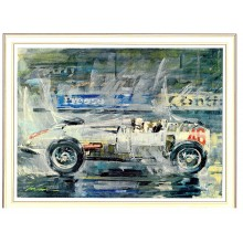 Gotschke Limited Edition Print - 1934 Avus Grand Prix