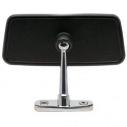 Dash Mounted Interior Mirror - Black & Chrome