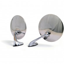 Pair of Wing Mirrors - Convex Glass