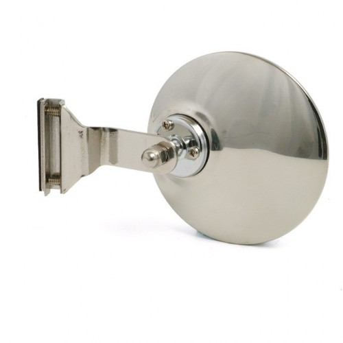 Overtaker Mirror - Glass Channel Mounted - Round - Convex image #1