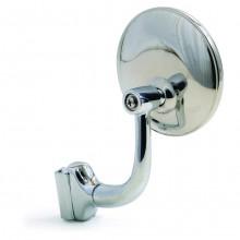 Overtaker Mirror - Door Edge - Round 75mm - Flat Glass