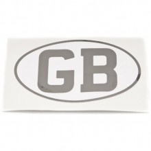 GB Letters Sticker