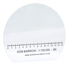 Baseplate 1:150.000 Scale (km)