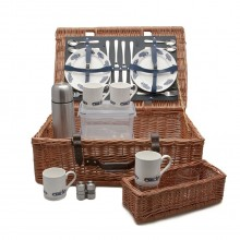 Classic Cars Picnic Basket (4 person)