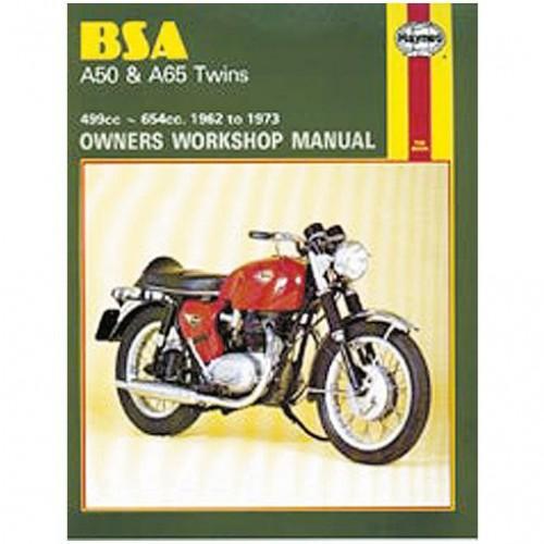 BSA A50 & A65 Twins Haynes Manual image #1