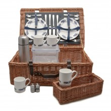 Austin Healey Picnic Basket (4 person)