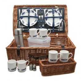 Austin Healey Picnic Basket (6 person)