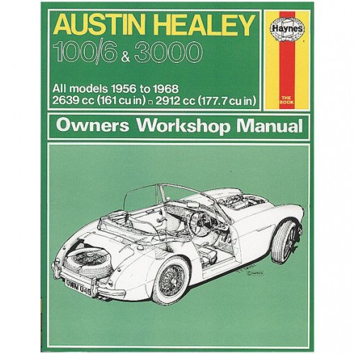 Austin Healey 100/6 and 3000 Haynes Manual image #1