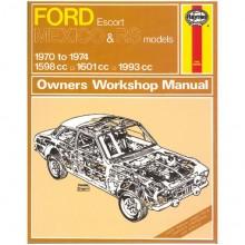 Ford Escort Mk I Mexico/RS Haynes Manual