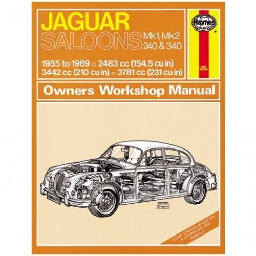 Jaguar MkI/Mk II/240 & 340 Haynes Manual image #1