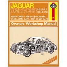 Jaguar MkI/Mk II/240 & 340 Haynes Manual