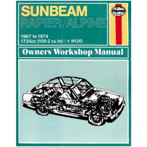 Sunbeam Alpine/Rapier & H120 Haynes Manual image #1