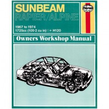 Sunbeam Alpine/Rapier & H120 Haynes Manual