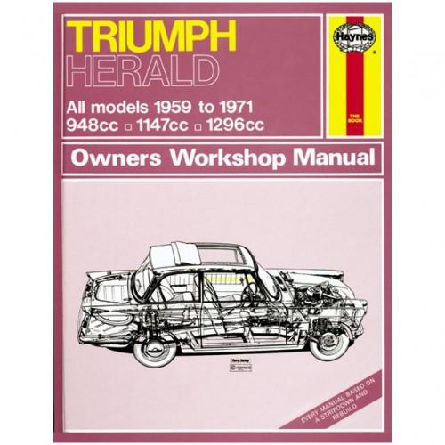 Triumph Herald Haynes Manual image #1