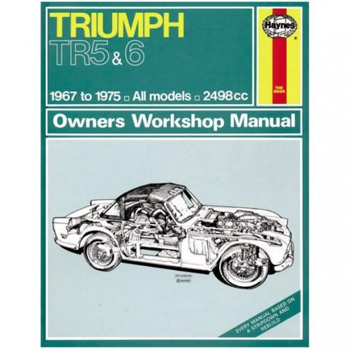 Triumph TR5/TR6 Haynes Manual image #1