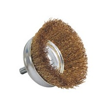 Hollow Cup Wire Brush - 50mm diameter