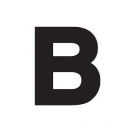 80mm Adhesive Registration B