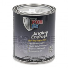POR-15 Engine Enamel (Black) 0.473 litre