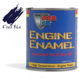 POR-15 Engine Enamel (Ford Blue) 0.473 litre