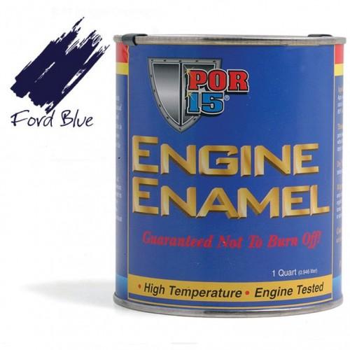 POR-15 Engine Enamel (Ford Blue) 0.473 litre image #1