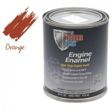 POR-15 Engine Enamel (Chevrolet Orange) 0.473 litre