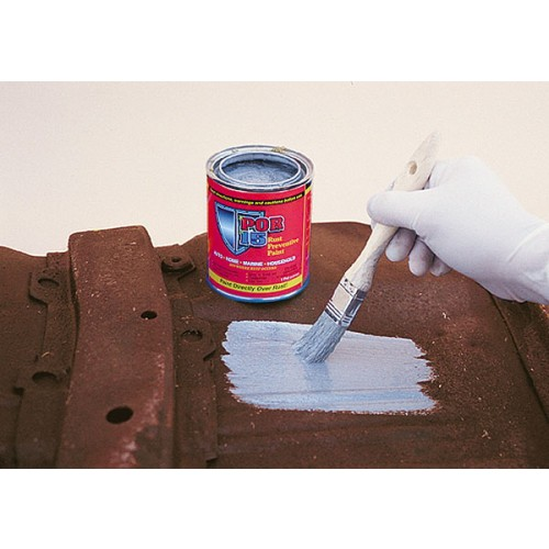 POR-15 Rust Preventative Paint - Grey - 0.473 litre image #3