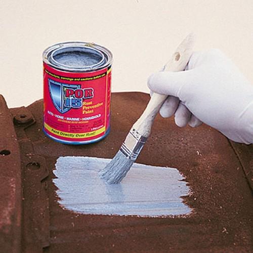 POR-15 Rust Preventative Paint - Black Semi Gloss - 0.473 litre image #3