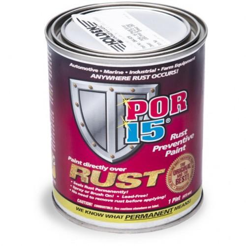POR-15 Rust Preventative Paint - Silver - 0.473 litre image #1