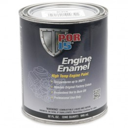 POR-15 Engine Enamel (Black) 0.946 litre
