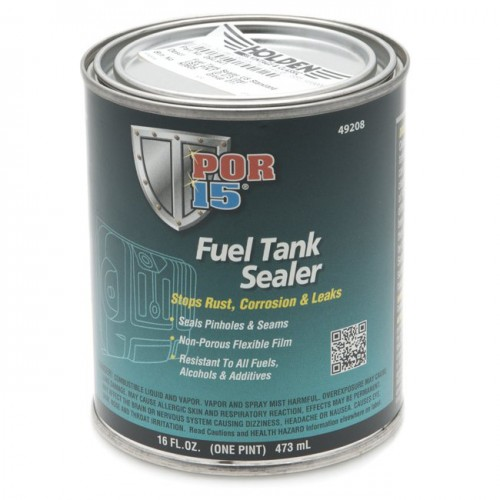POR-15 U.S. Standard Fuel Tank Sealer - 0.473 litre image #1