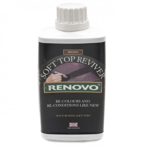 Renovo Soft Top Reviver - Brown 500ml image #1