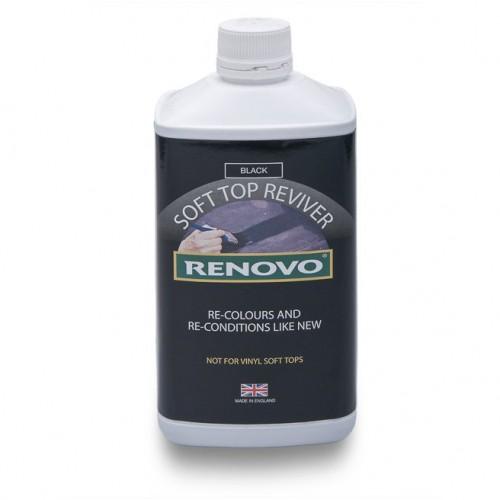 Renovo Soft Top Reviver - Black 1 Litre image #1