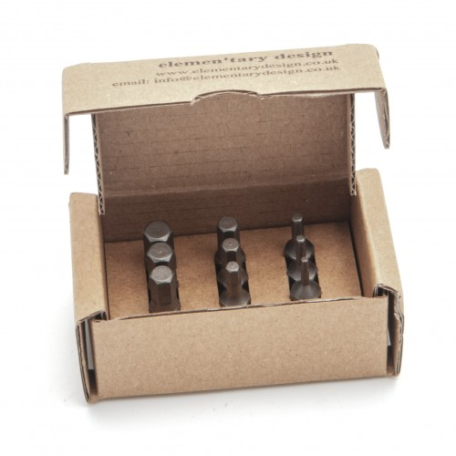 Hex Bits for Elementary Screwdrivers