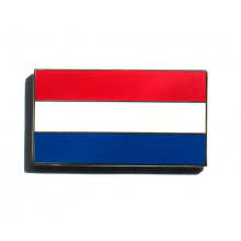 Enamel Netherlands Flag Stick On Badge