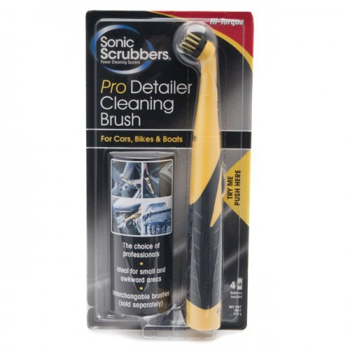 Sonic Scrubber Pro-Detailer Electric Cleaning Brush image #1