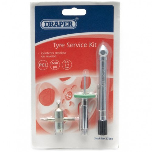 Tyre Service Kit (contains Tyre Pressure Gauge) image #1