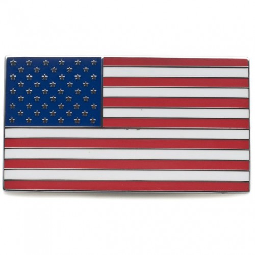 USA Stars & Stripes Adhesive Badge image #1