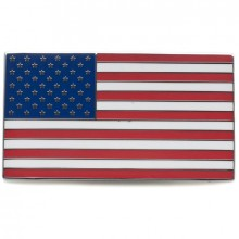 USA Stars & Stripes Adhesive Badge
