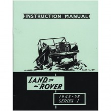 Land Rover Series I 1948-58 Instruction Manual