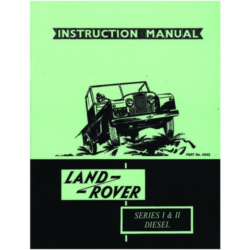 Land Rover Series I/II Diesel Instruction Manual image #1
