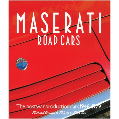 Maserati Road Cars 1946-1979 image #1
